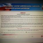 Usuwanie wirusa UKASH Warszawa, trojan policja, wellsof