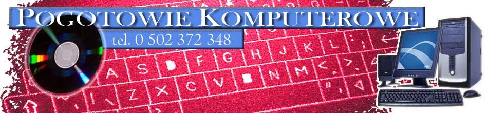 Pogotowie Komputerowe Warszawa, tel. 502 372 348